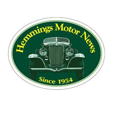 Hemmings Motor News Decal